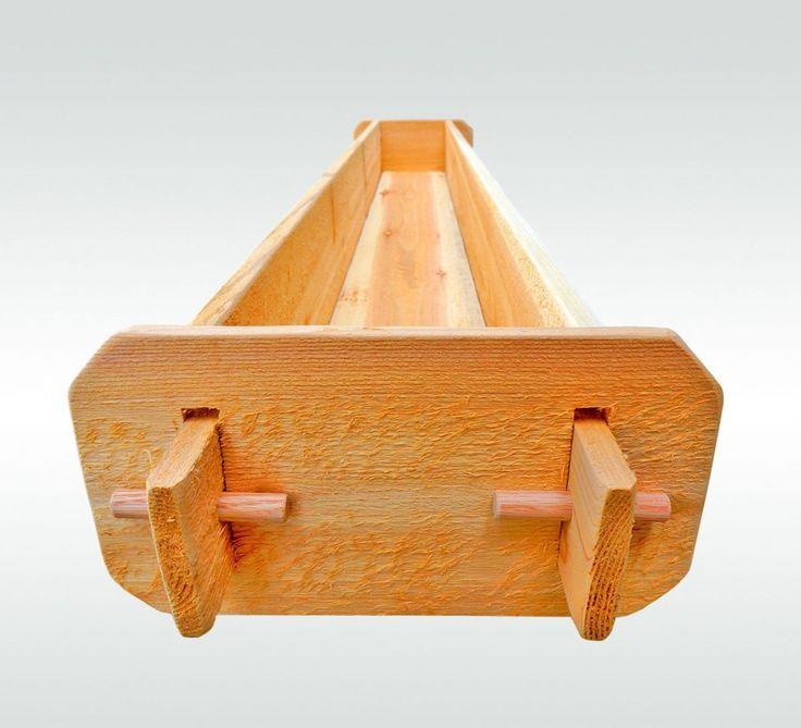 Timberlane Gardens Long Outdoor Rectangular Planter Box Kit Deck Patio Balcony…
