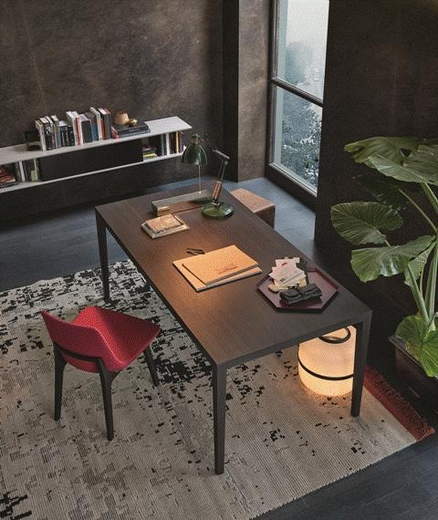 POLIFORM: Hector table, Play pouf and Ventura pouf