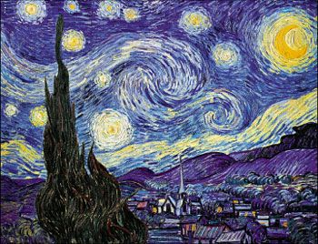 Van Gogh, Starry Night (1889)