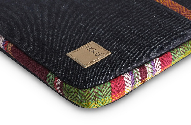 IKKU IPAD AND MACBOOK CASES MADE FROM DENIM