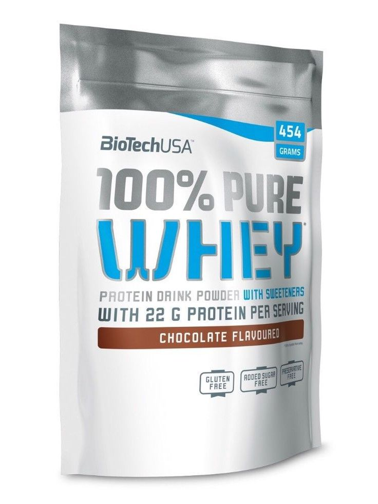 100% Pure Whey BiotechUSA