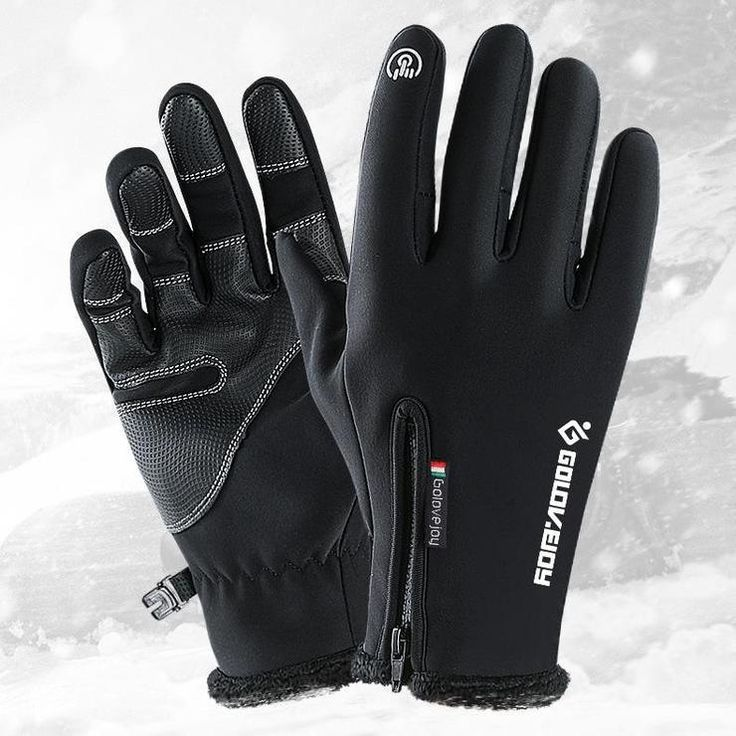 Leather Touchscreen Winter Motorcycle Gloves water prevent Glove for Guant Luvas