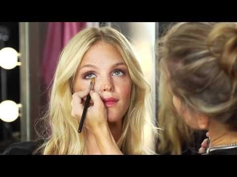 victoria's secret makeup tutorial!