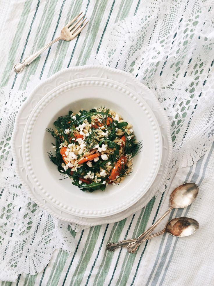 salade-orzo-carotte-roquette-feta