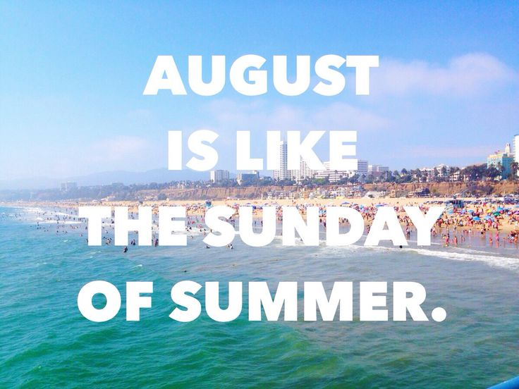 End of Summer Quote.