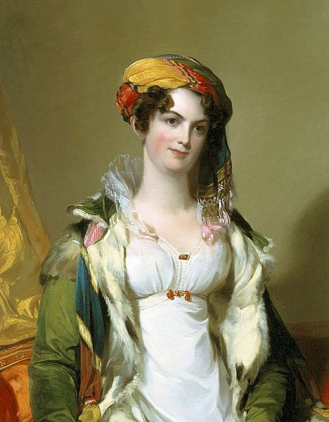 Robert Gilmor, Jr. (Sarah Reeve Ladson) , oil on canvas painting by Thomas Sully, 1823