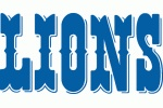 Detroit Lions wordmark logo 1970 - 2008.