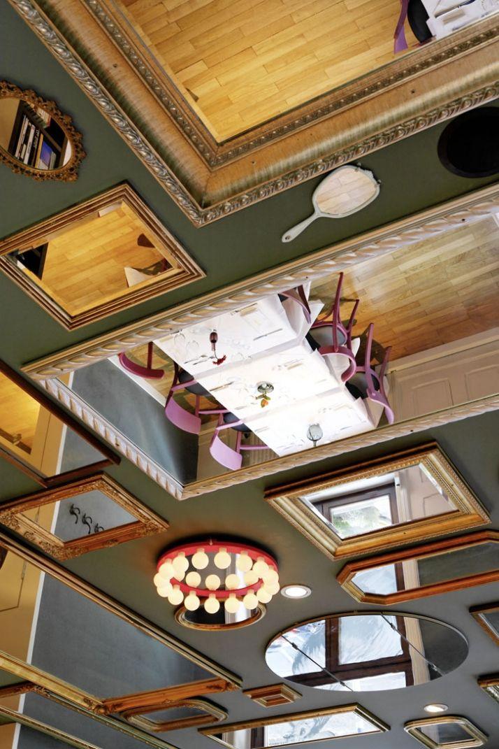 Нестандартные идеи для оформления потолка – Полезные советы