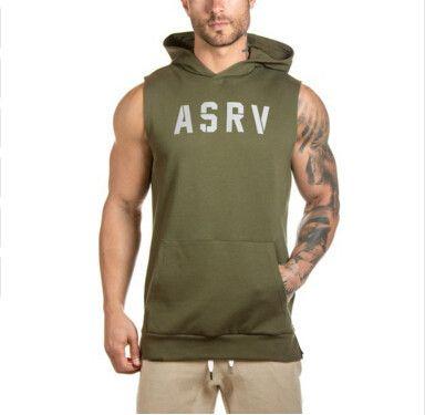 Aesthetic Revolution Sleeveless Hoodie (Army Green)