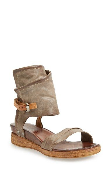 A.S.98+A.S.+98+'Bowery'+Ankle+Cuff+Sandal+(Women)+available+at+#Nordstrom