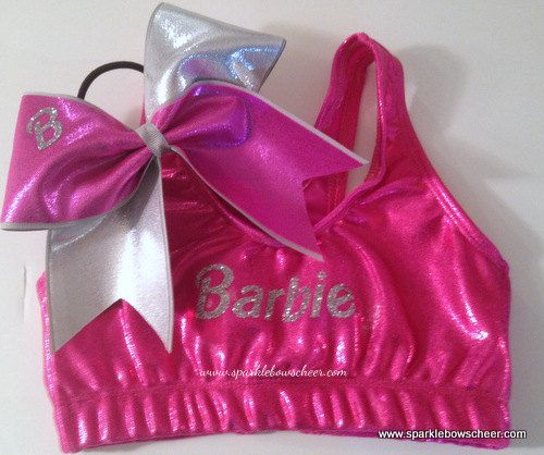 Hey, I found this really awesome Etsy listing at http://www.etsy.com/listing/118798839/bar-bar-pinksilver-metallic-sports-bra