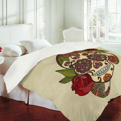 sugar skull bed comforter