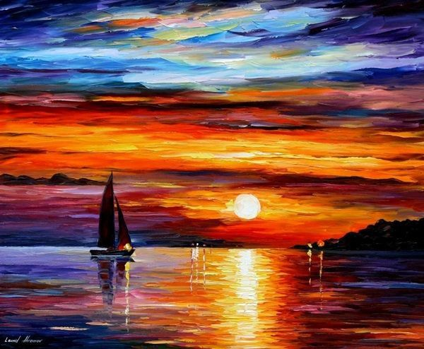 Easy oil paintings for beginners for Simple oil painting ideas