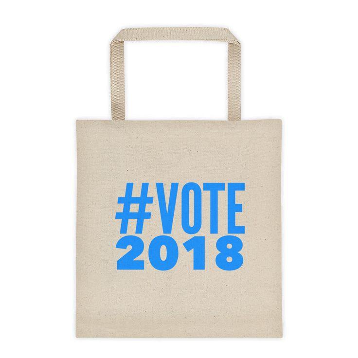 Excited to share the latest addition to my #etsy shop: Vote 2018 Tote Bag / Voter Registration Tote / Reusable Tote / Mid-Term Tote / Reusable Shopping Bag / Canvas Tote Bag / Blue Wave Tote Bag #bagsandpurses #canvastotebag #cottontotebag #markettote #vote #youthvote #midterm2018 #bluewave