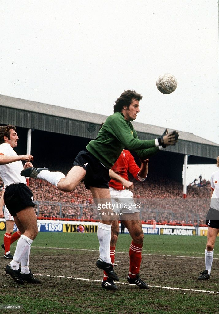 1970's Ray Clemence Liverpool goalkeeper Ray Clemence played for Liverpool from 19671981 and won...