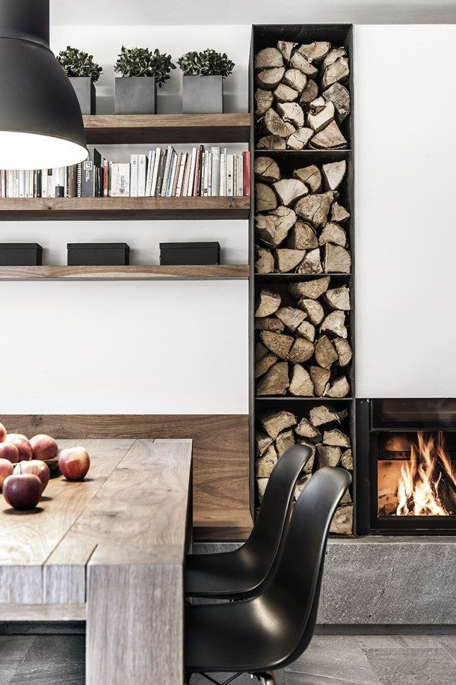 7 best kaminholz images on Pinterest Fire places, Firewood storage