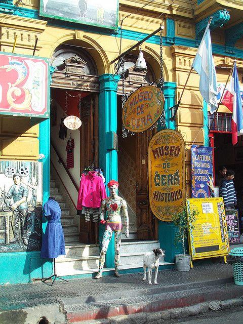 un museo en Buenos Aires, Argentina ...