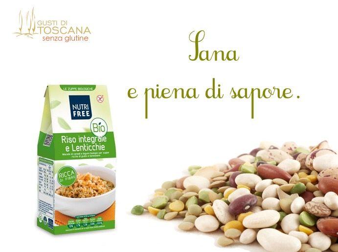 Zuppa di #legumi e #cereali - biologica e #senzaglutine http://bit.ly/1Ktn8xk #bio #veg #riso #rice #genuinefood #madeintuscany