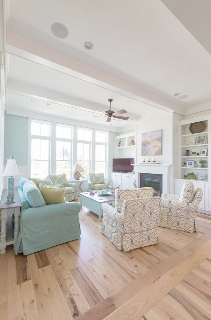 New England Style House Interiors
