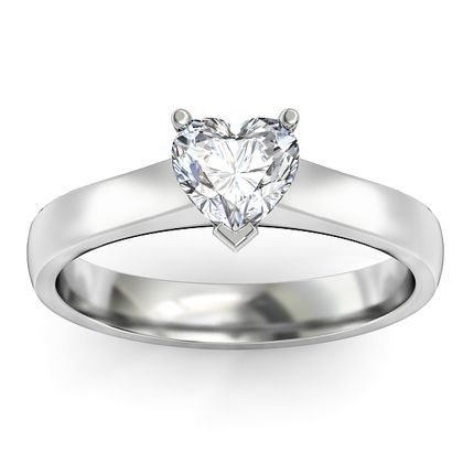 Selection of cute white gold promise rings for her