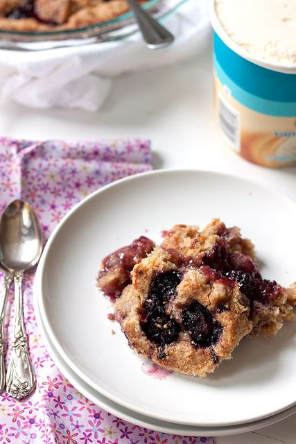 Blackberry Cobbler by Back to the Cutting Board, via Flickr