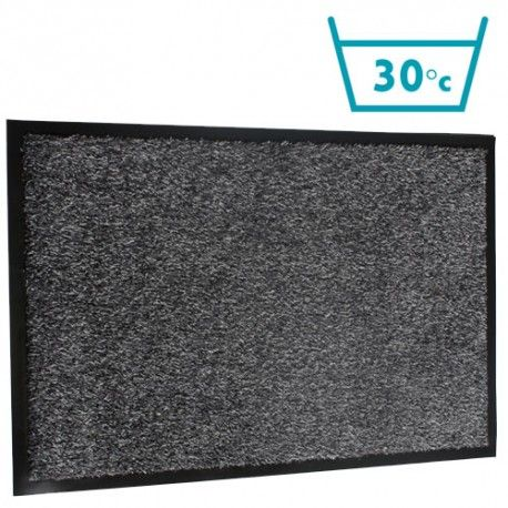 Charcoal Machine Washable Door Mat in 5 Sizes
