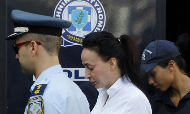 Police arrest Vicky Stamati after locating her in Haidari