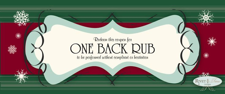 Back Rub Coupon Printable - healthbob.tk FREE Get Deal Listing coupon codes websites about back rub coupon healthbob.tk and use it immediately to get coupon codes, promo codes, discount codes. Actived: Tuesday Nov 13,