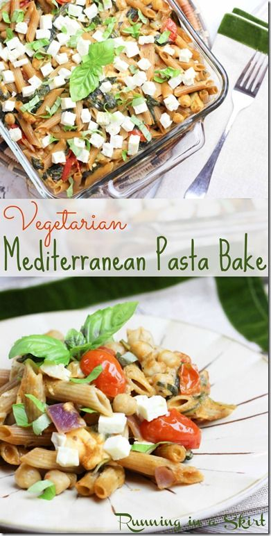 Vegetarian pasta bake recipes easy