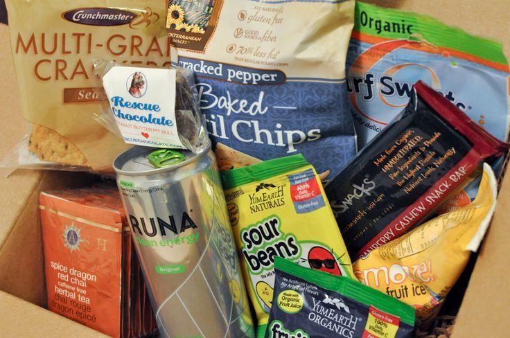 Vegan Cuts snack box delivers thegoodies. #vegan #vegancuts