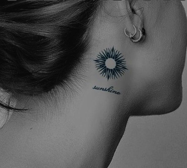 25+ Unique Tribal Sun Tattoos Ideas On Pinterest