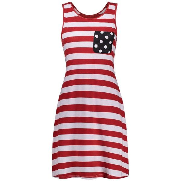 American Flag Print Trapeze Mini Dress (€8,95) ❤ liked on Polyvore featuring dresses, short red dress, usa flag dress, american flag dress, red trapeze dress and red dress