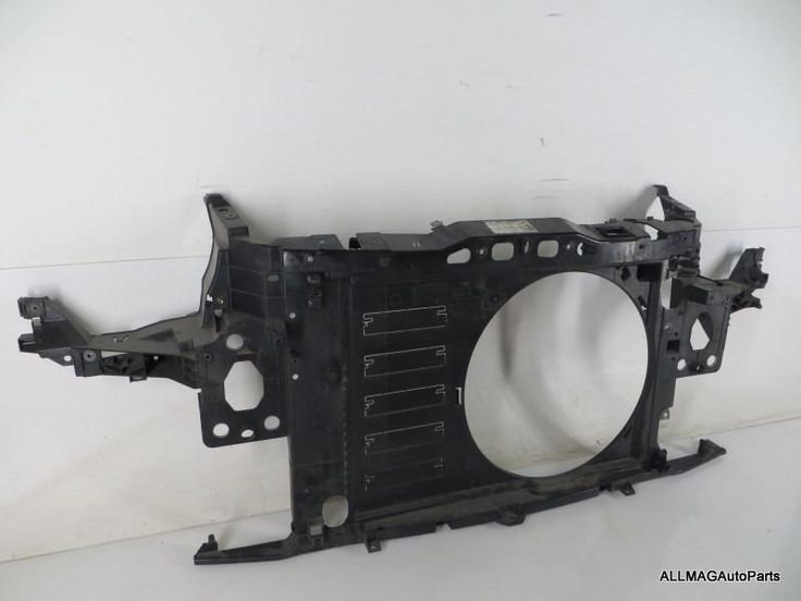 51647145012 07-10 Mini Cooper Base 1.6L Front Panel Radiator Support R55 R56 R57 OEM
