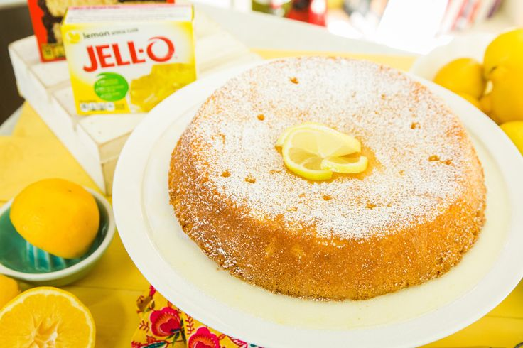 A sweet treat that lemon fans will love!  Barbara Niven's Lemon Jello Killer Cake! Don't miss Home & Family weekdays at 10a/9c on Hallmark Channel!