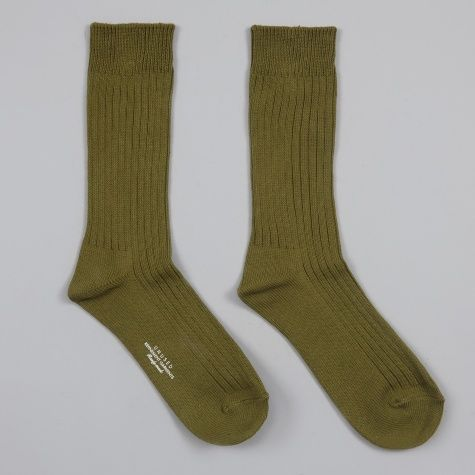 Cotton Socks - Olive