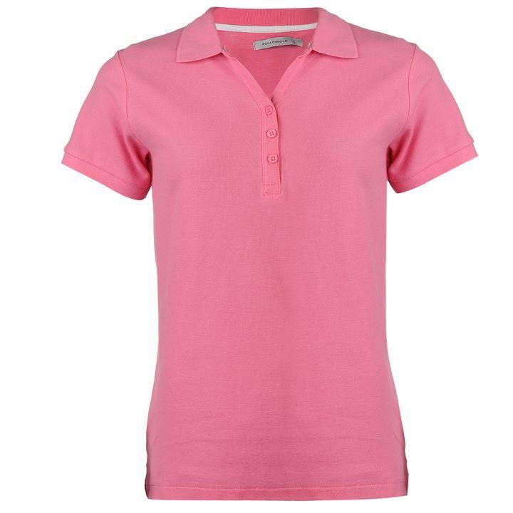 Full Circle   Full Circle Plain Polo Shirt Ladies   Ladies Polo Shirts