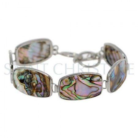 Bracelet en Coquillage et Argent massif de chez Saintchristine.com