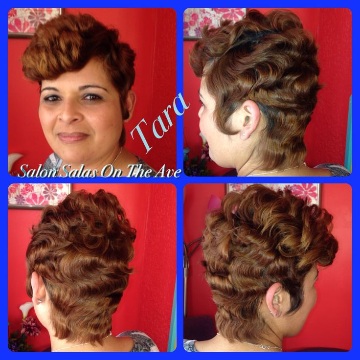Salon salas on the ave located in charlotte nc hair styled by salon salas on the ave located in charlotte nc hair styled by sala ort hair cut and great color waves and curls oh my pinterest shorter hair pmusecretfo Image collections