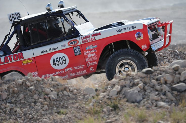 Motor'n | LEGENDARY '68 FORD BRONCO, DRIVEN BY OFF-ROAD RACING LEGACY, TAKES 3RD IN VINTAGE CLASS AT MINT 400