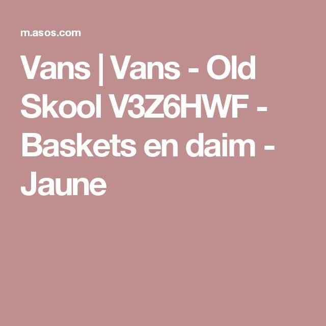 Vans | Vans - Old Skool V3Z6HWF - Baskets en daim - Jaune