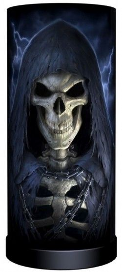 Picture of The Reaper Cylindrical Table Lamp (James Ryman) 28cm