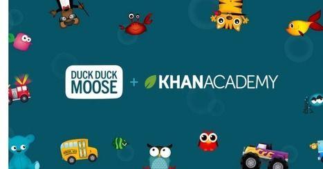 Kids app maker Duck Duck Moose joins KhanAcademy | Advids Reviews…