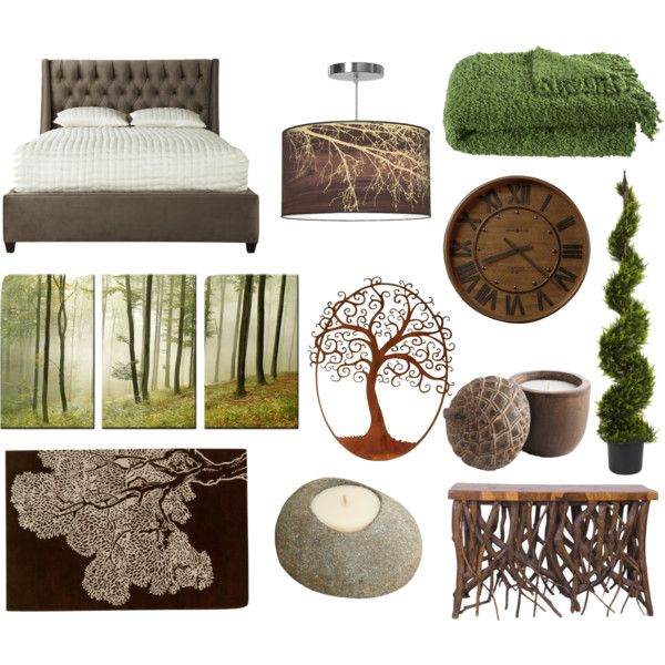 forest themed bedroom by pet387 on polyvore no place like home pinterest bedrooms. Black Bedroom Furniture Sets. Home Design Ideas