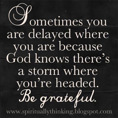 ❥ Trust God's timing...