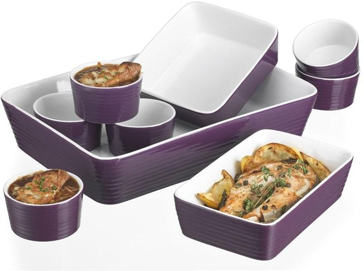 purple cookware sets | Ceramic Cookware Set by Home Essentials