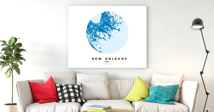 New Orleans | Custom Map Maker – Make Your Own Map Poster Online - YourOwnMaps