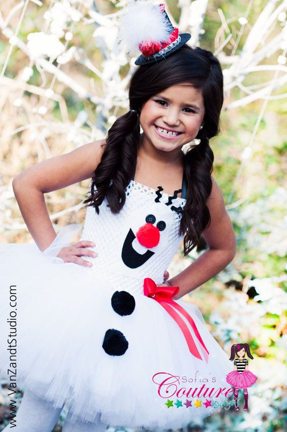 Cute maybe for Cierra to wear for Paytons bday   Etsy listing at https://www.etsy.com/listing/175996498/disney-frozen-inspired-olaf-tutu-dress