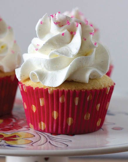 Emily's Double Vanilla Bean Cupcakes | Cupcake Recipes | Pinterest