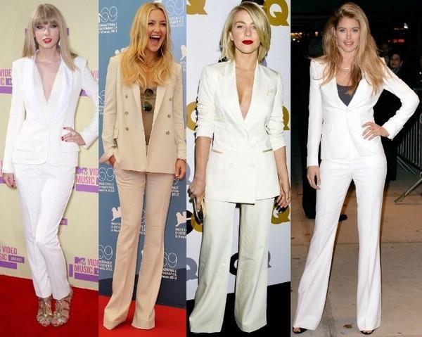 Белый костюм классического стиля купить