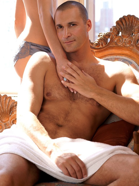 Nigel Barker.  Once a model, now a famous photographer and fashion go to extrodianaire.  He's married and I think he is some yummy, yummy candy.  Gorgeous and fresh and delish!!!   It never hurts to look once or twice or ten times!!!!